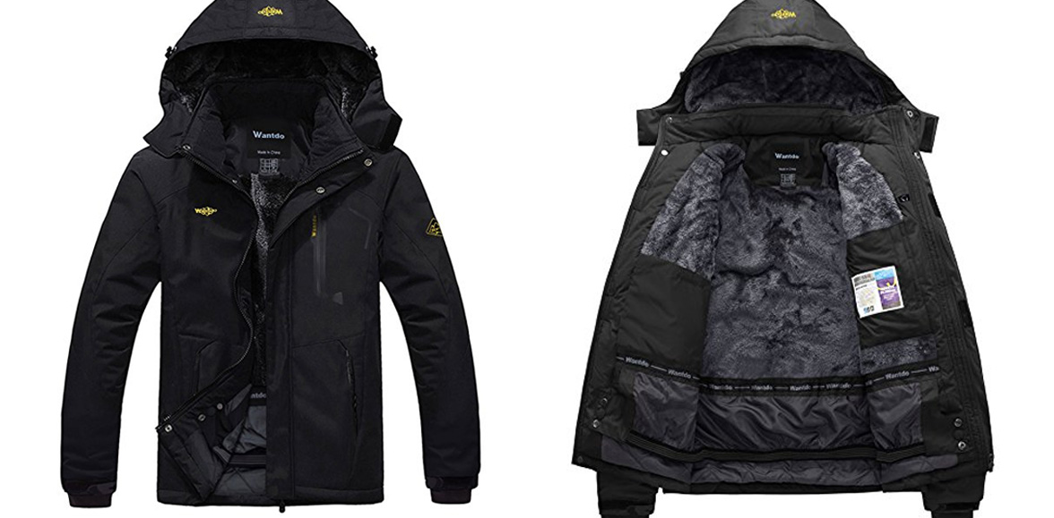 Amazon's Gold Box offers 25% off WantDo jackets for men & women