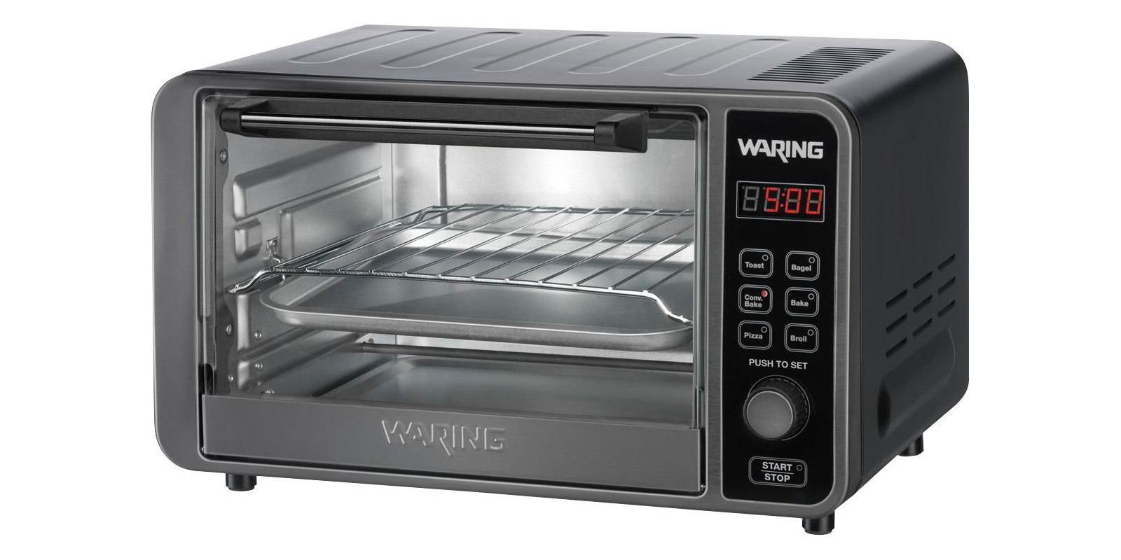 Waring Pro S Stainless Steel Toaster Oven Drops To 40