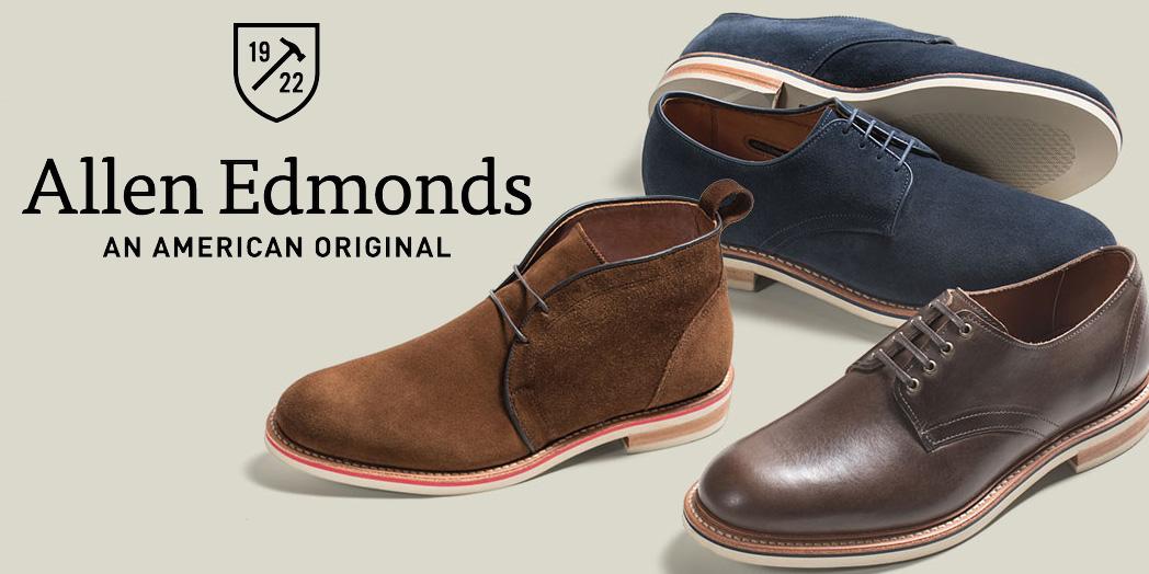 Allen Edmonds offers an extra 20% off boots, loafers, dress