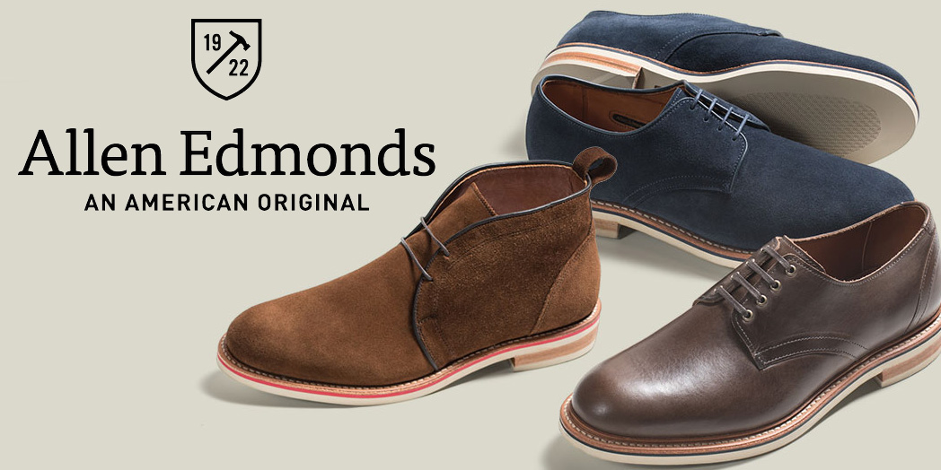 Allen Edmonds adds 100's of new items to its clearance w/ deals up to 50% off