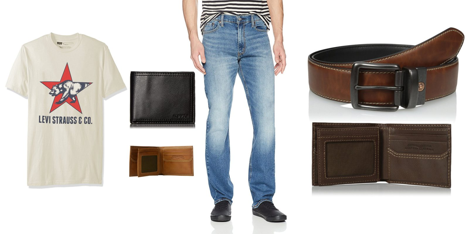 e2c209e7817 Amazon up to 50% off Levi's jeans, t-shirts, belts, wallets and more,  starting from $8 (today only)