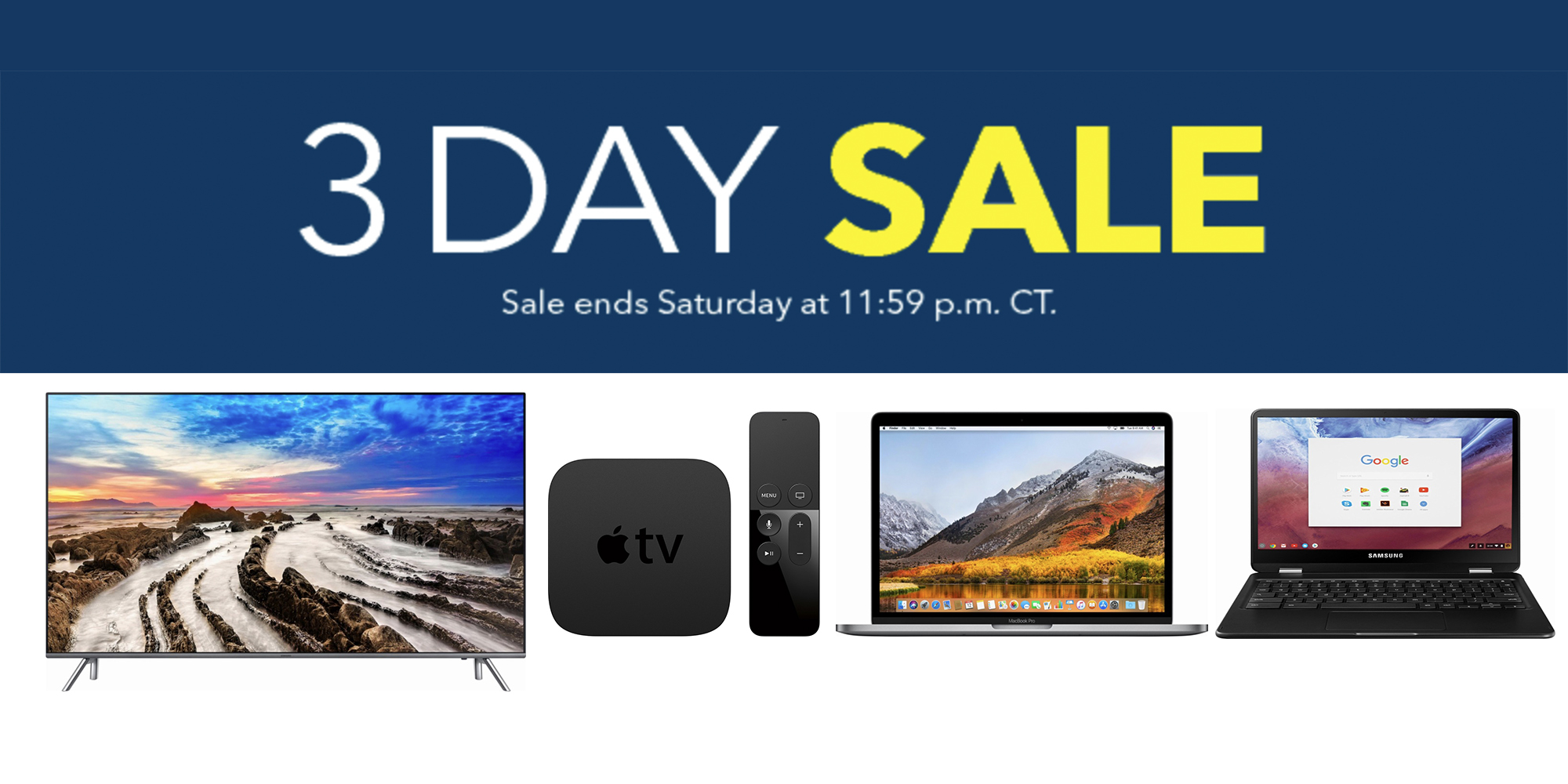 Best Buy unveils new 3-day sale: MacBook Pros from $1,050, Chromebooks, TVs, much more