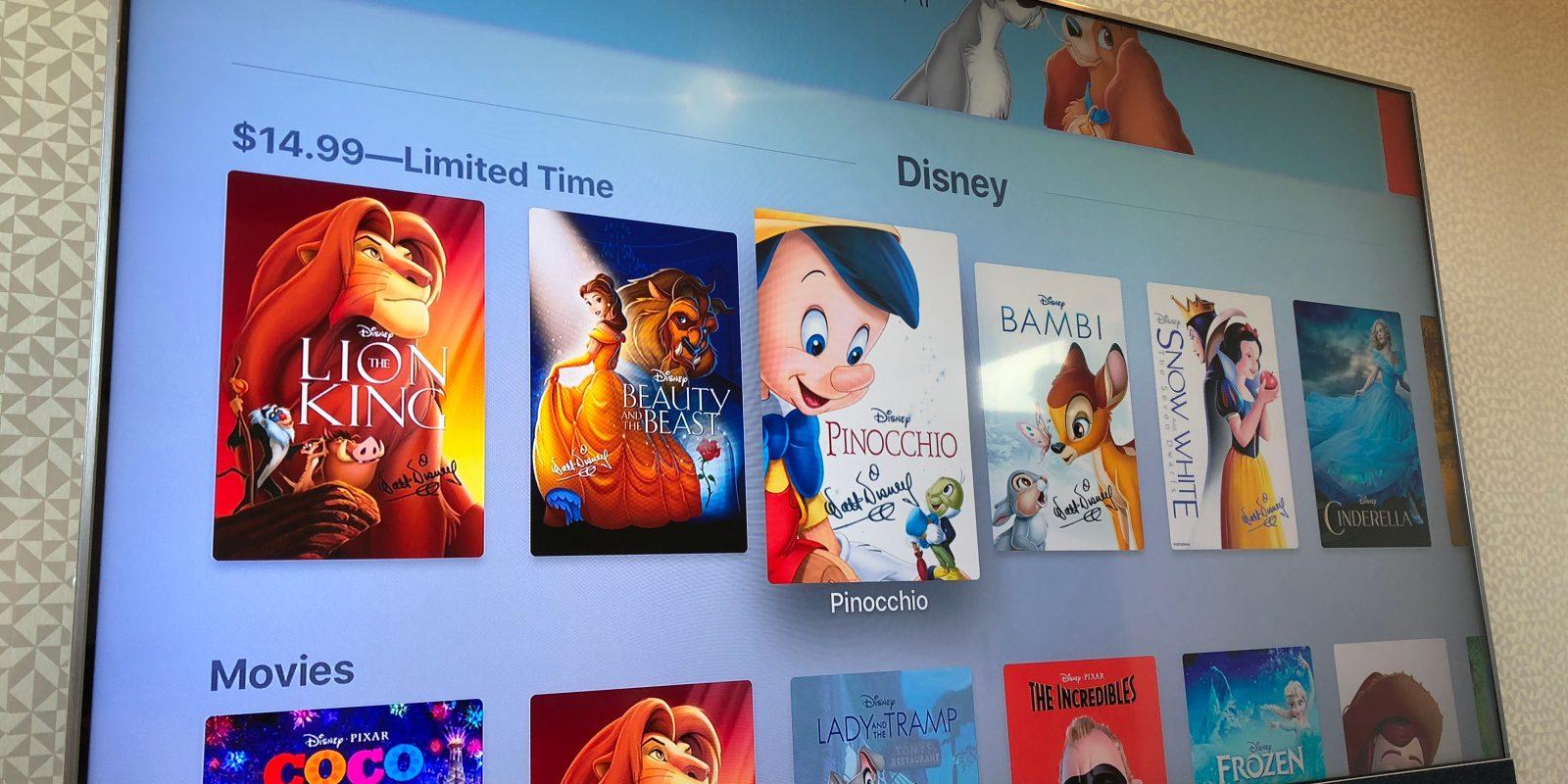 iTunes Disney Movie Sale has classics from $15, Oscar ...