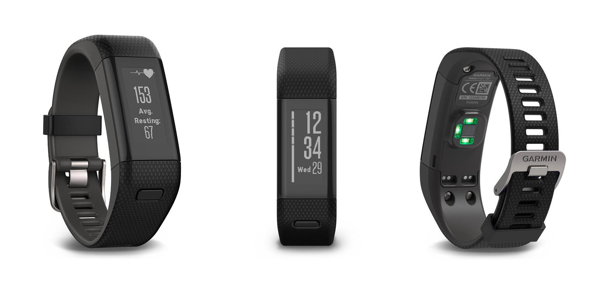 Garmin's vívosmart HR+ activity tracker keeps tabs on swims, heart rate, & more for $93 (Reg. $100+)