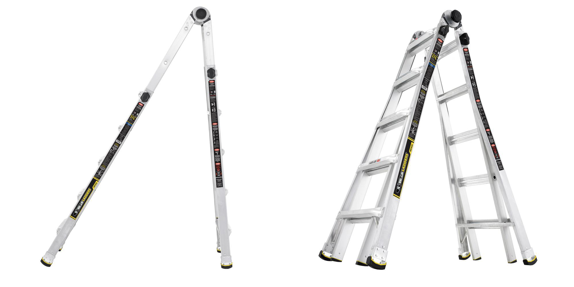 Gorilla Ladders 22-ft. Aluminum Ladder down to $99 in this