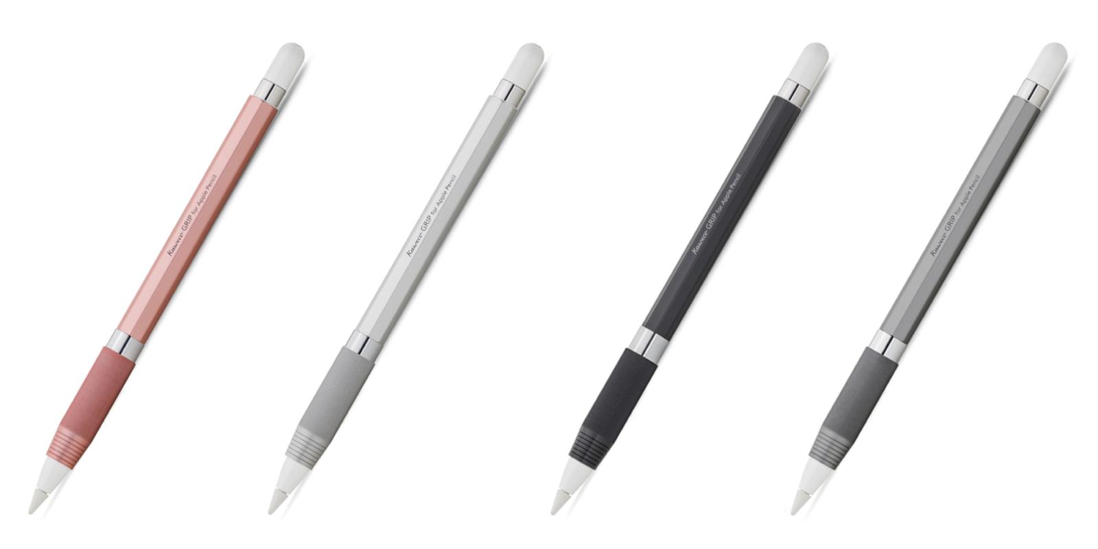 Kaweco unveils new aluminum Apple Pencil grip with octagonal, ergonomic design