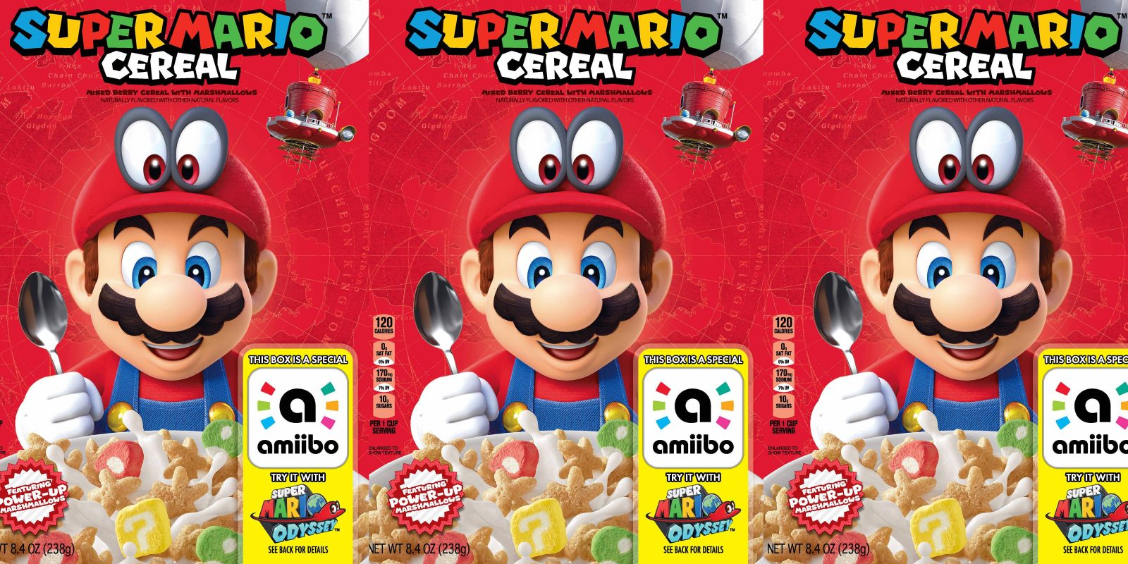 df4a00c237 Kellogg's Super Mario Cereal + amiibo now available for $2.50 or less at  Target
