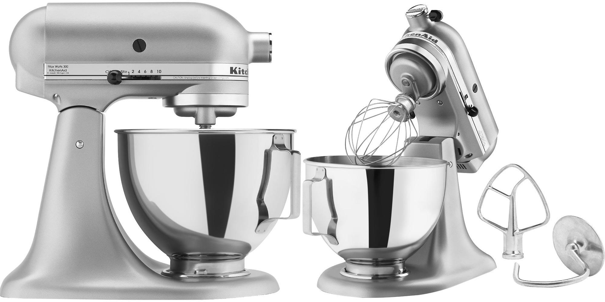 Kitchenaid 4 5 Quart Tilt Head Stand Mixer Drops To 190