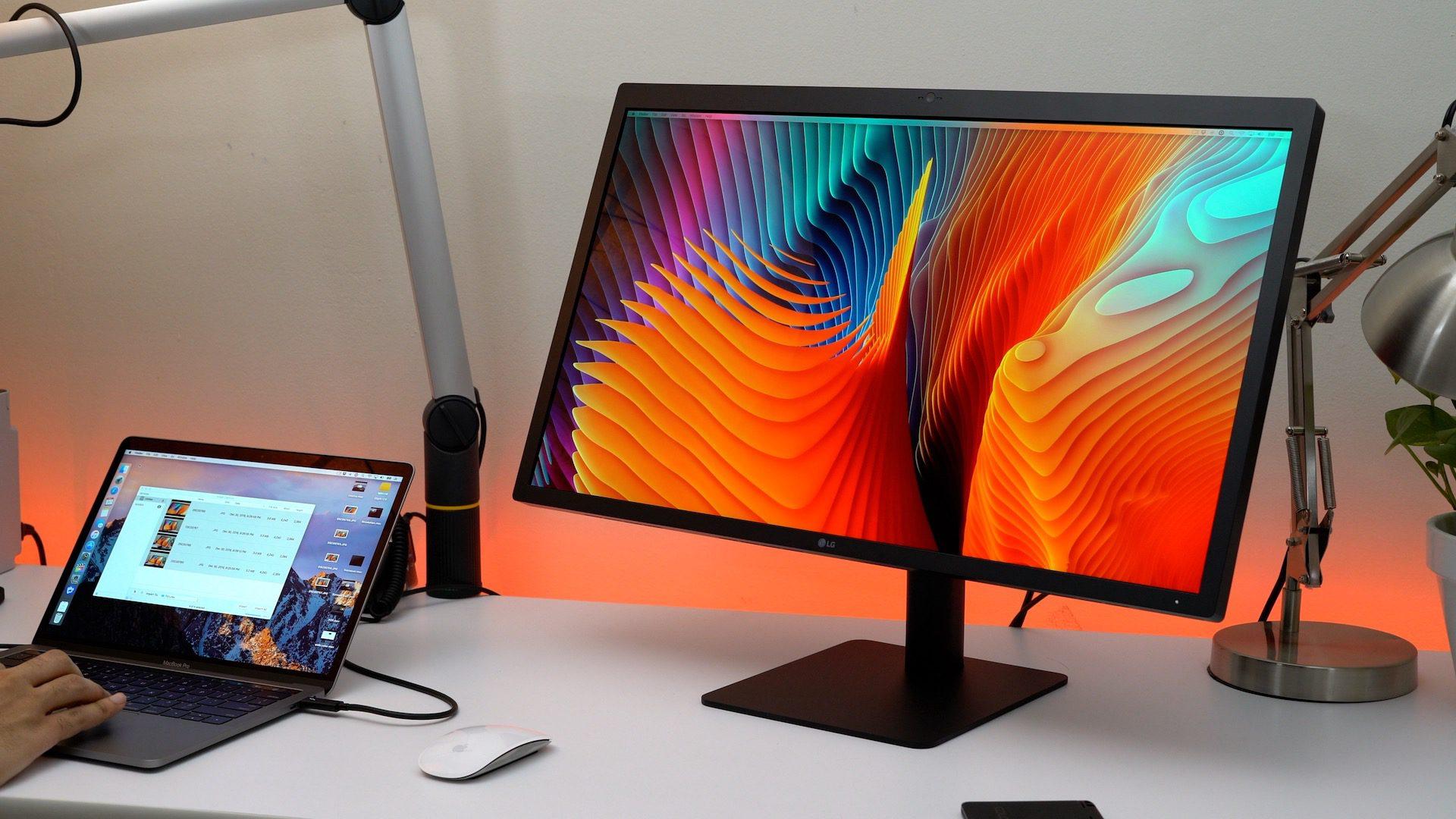 Apple-endorsed LG UltraFine 5K Display is half off (cert refurb) today only: $649