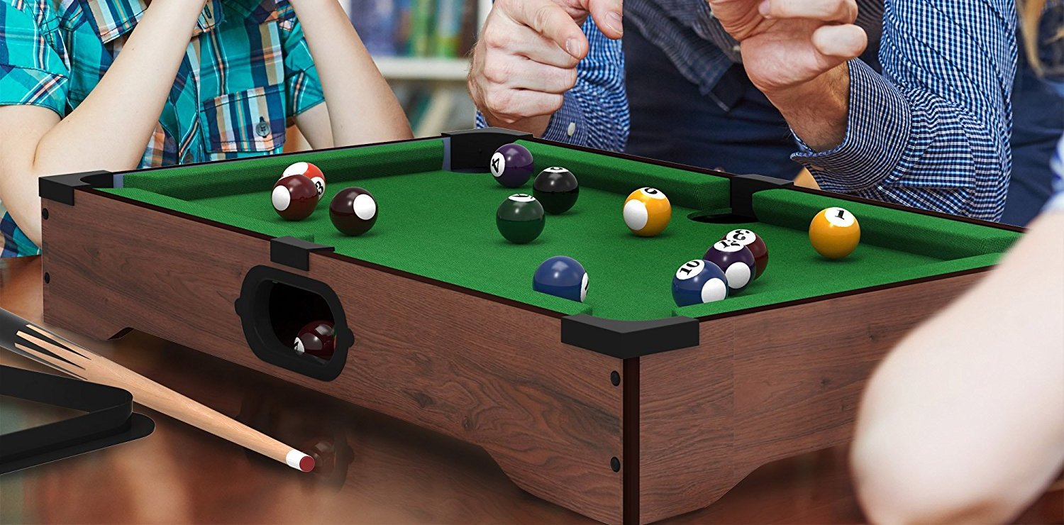 The Miniature Tabletop Billiards Set Of Your Dreams Just Hit $16 Prime  Shipped On Amazon   9to5Toys