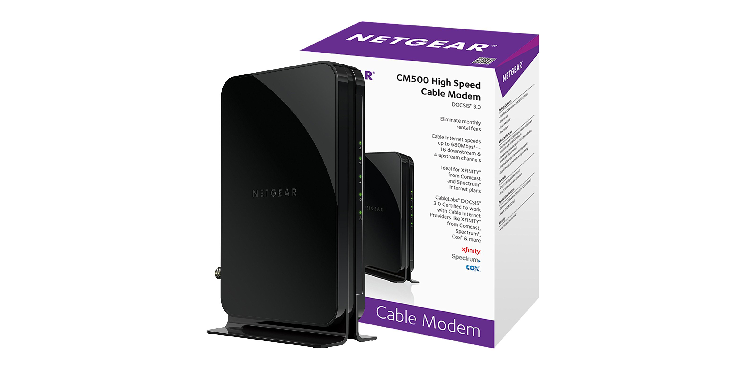 NETGEAR's $45 DOCSIS 3.0 Modem saves you up $120 per year by ditching your ISP's rental