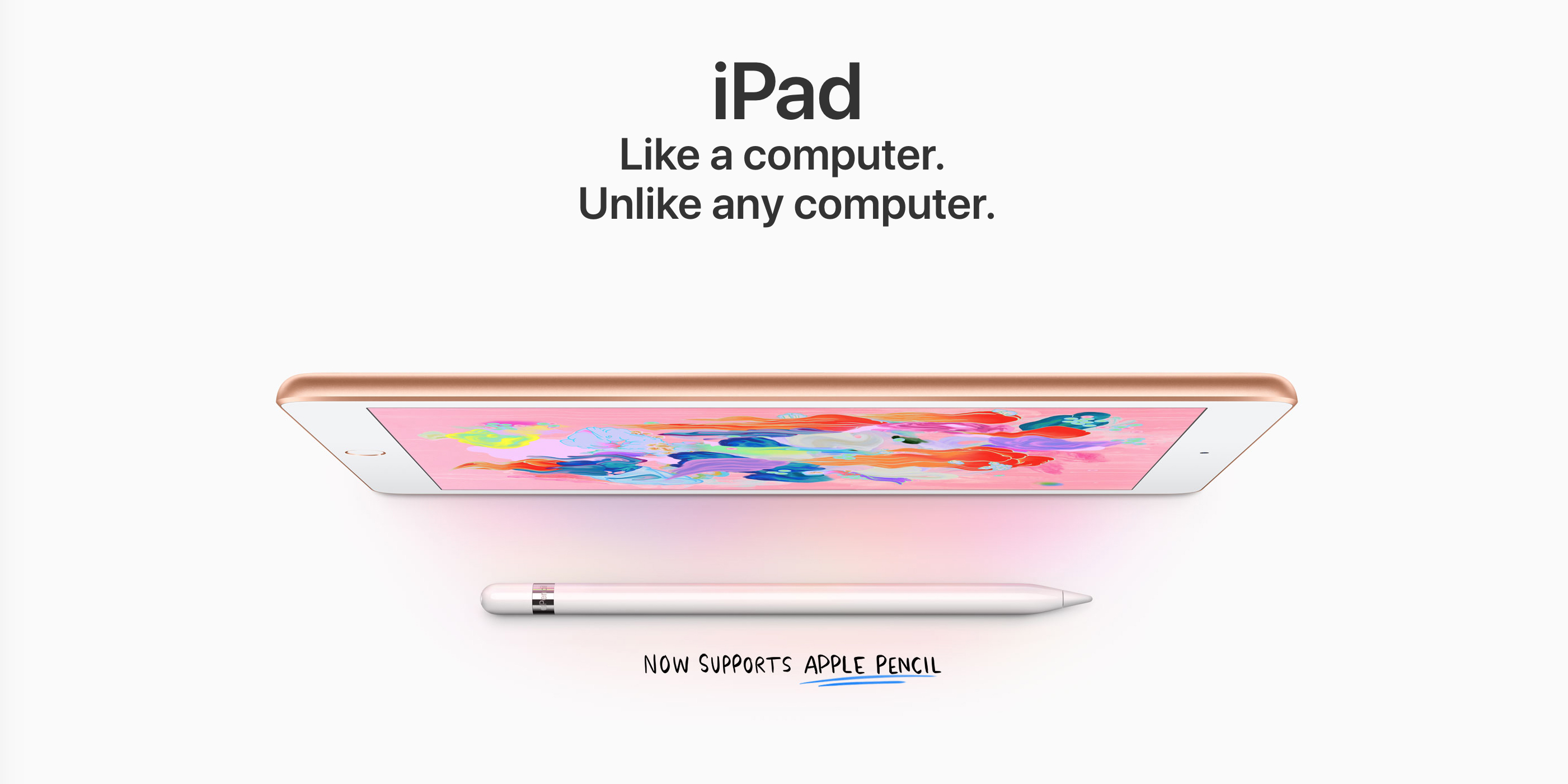 Apple's latest 9.7-inch iPad Wi-Fi 128GB marked down to $365 (Reg. $429)