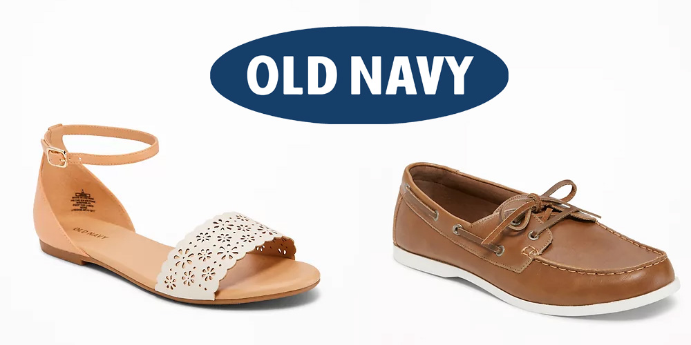 Old Navy is taking up to 50% off all shoes: boots, sneakers, sandals from $10