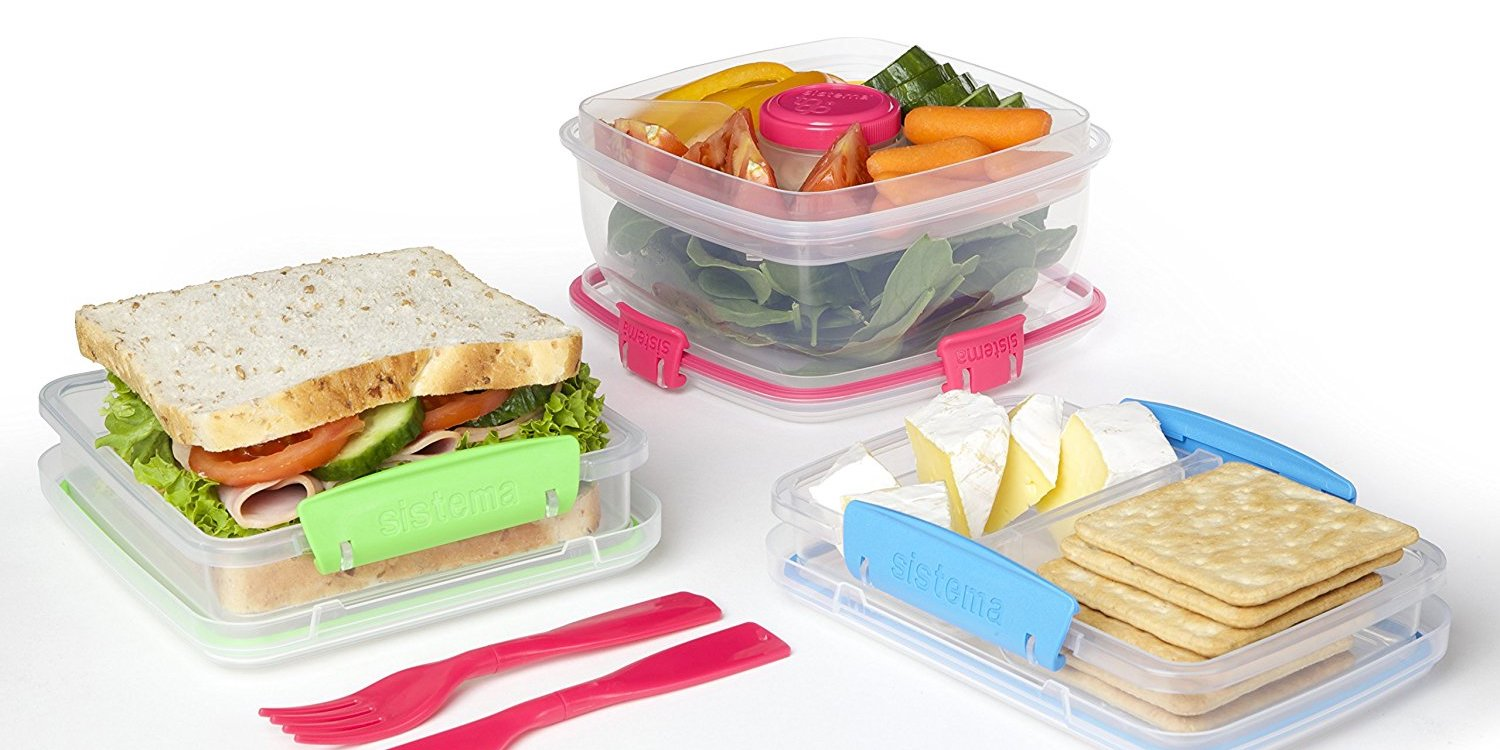 Sistema To Go Collection Salad Food Storage Container matching low