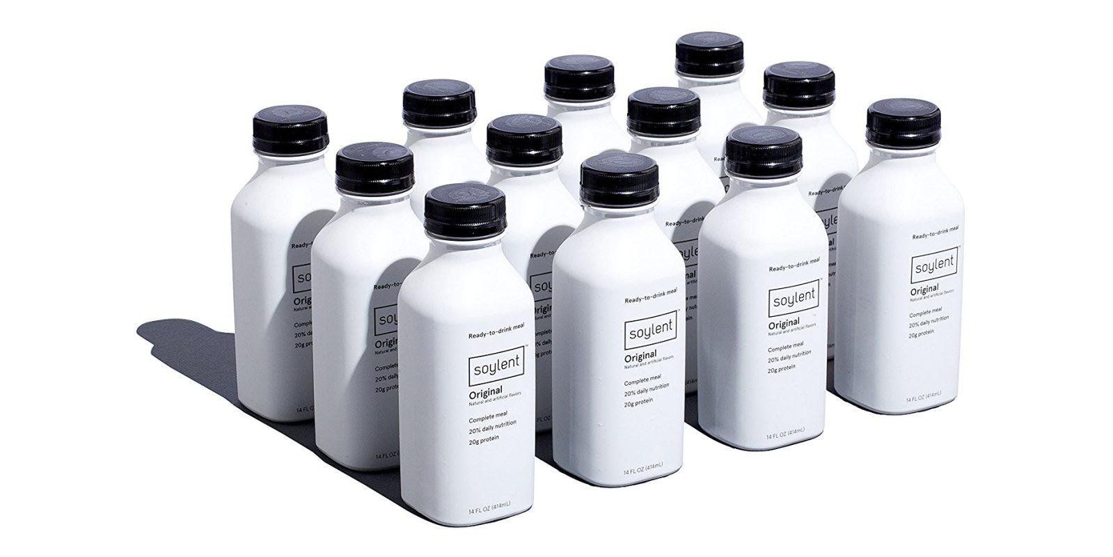 Try a 12-pack of Soylent Drinks and see what the craze is all about: $24 Prime shipped