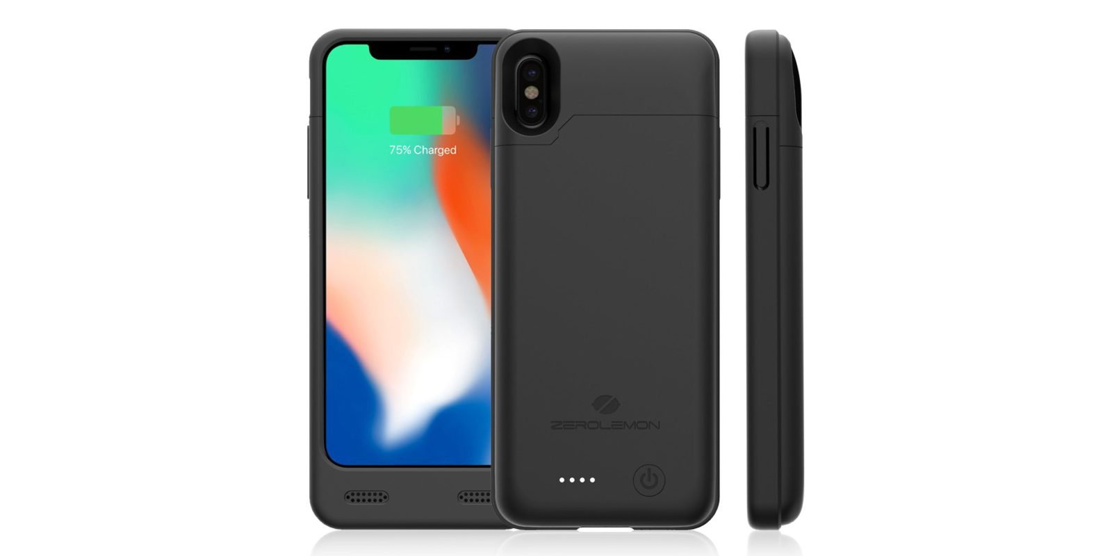 double your iphone x battery life w a zerolemon case from 15 via amazon 9to5toys. Black Bedroom Furniture Sets. Home Design Ideas