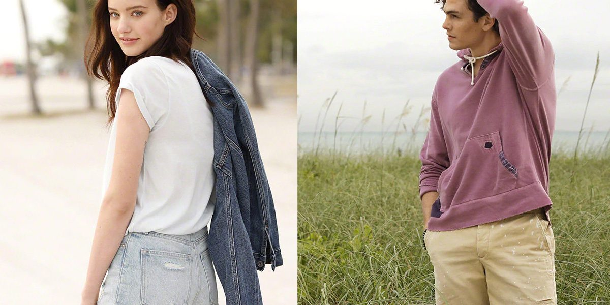 This weekend only, Abercrombie & Fitch takes 50% off sitewide with deals from $19
