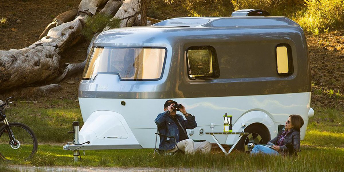 Airstream drops the iconic aluminum build in its new Nest travel trailer
