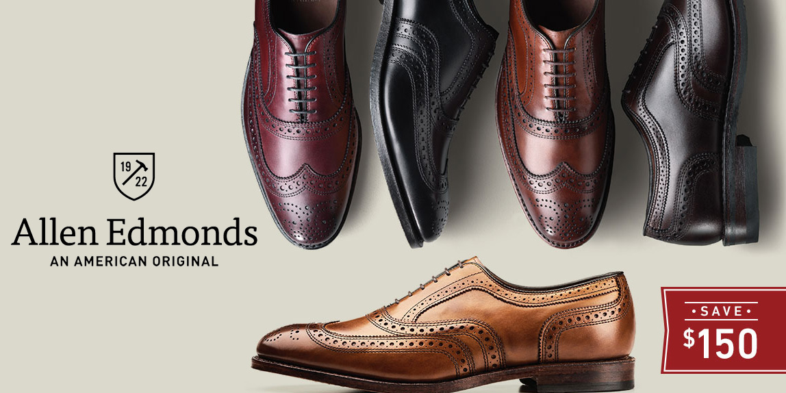 Allen Edmonds Summer Savings Event offers up to 50% off boat shoes, loafers, more