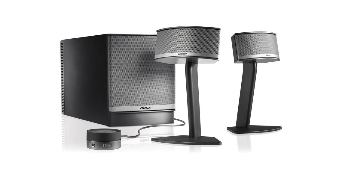the 300 bose companion 5 speaker system hits best price. Black Bedroom Furniture Sets. Home Design Ideas
