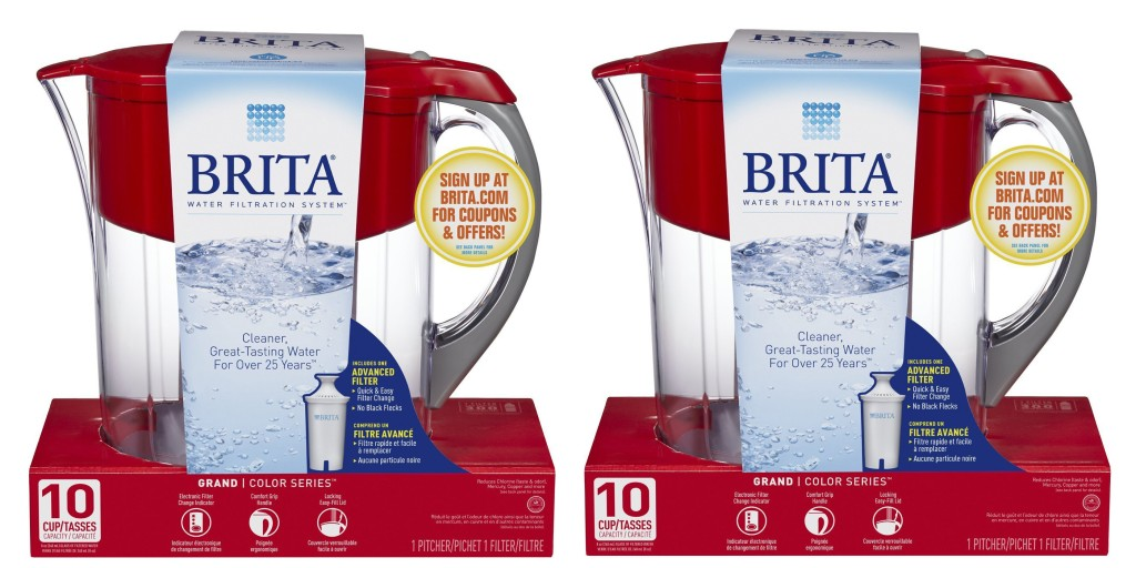 Replace Your Old Brita Pitcher With A New 10 Cup Model For