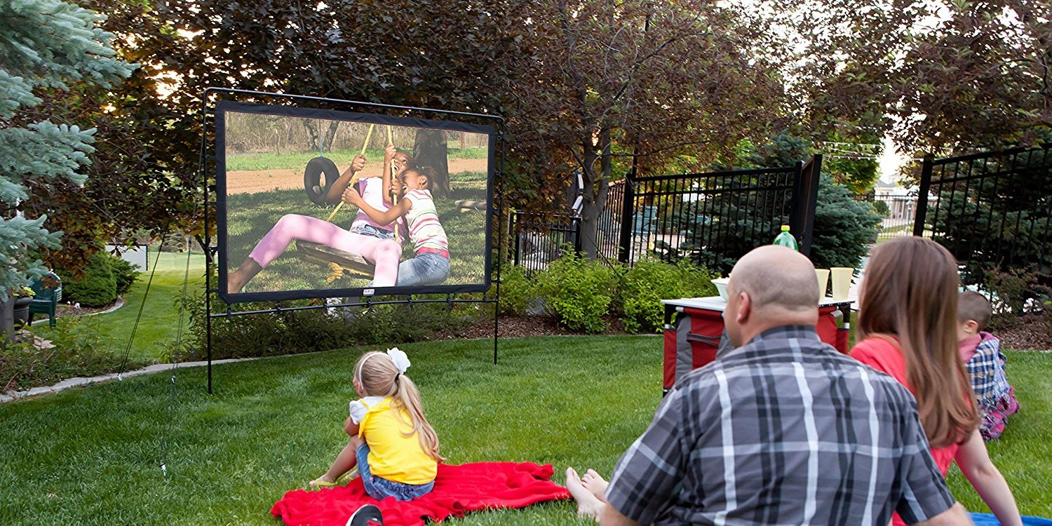 Take outdoor movie night to the next level this summer w