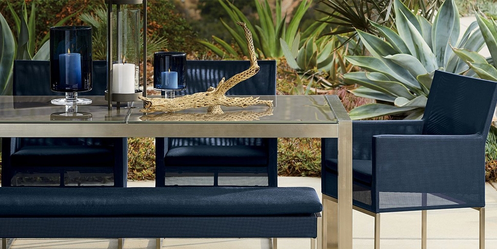 Crate Barrel Revamps Your Backyard With Up To 20 Off Outdoor