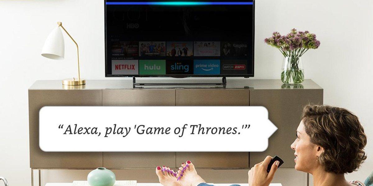 Amazon Fire TV with Alexa Skills