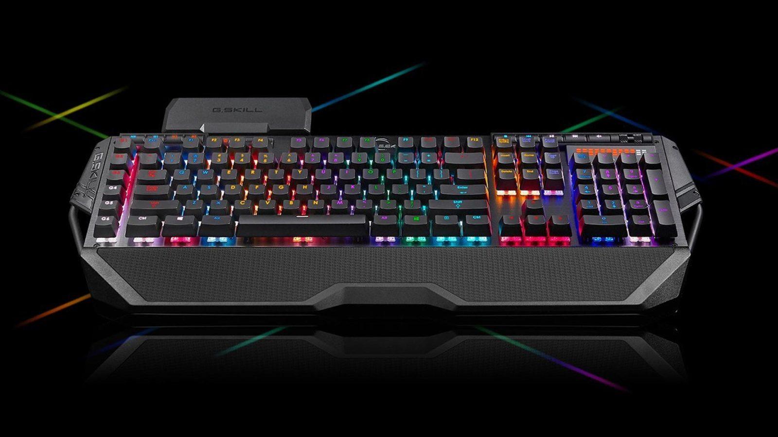 45ff578f3a3 Get G.SKILL's RIPJAWS KM780 RGB Mechanical Keyboard for $95 (Reg. $125)