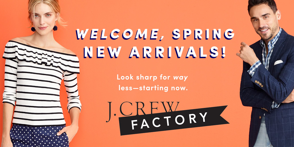 a7a3ff8c2b9 J.Crew Factory cuts an extra 50% off clearance items with this promo code
