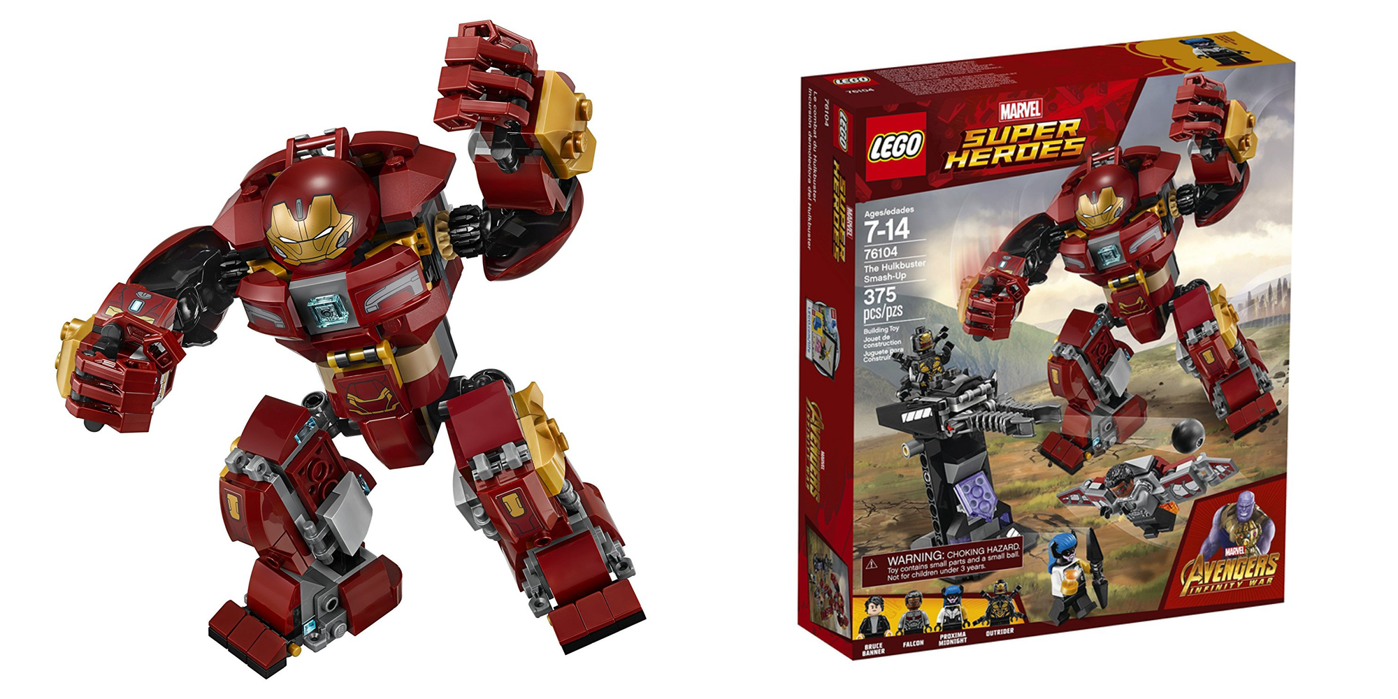 Suit-up in the Hulkbuster with this 375-piece LEGO ...