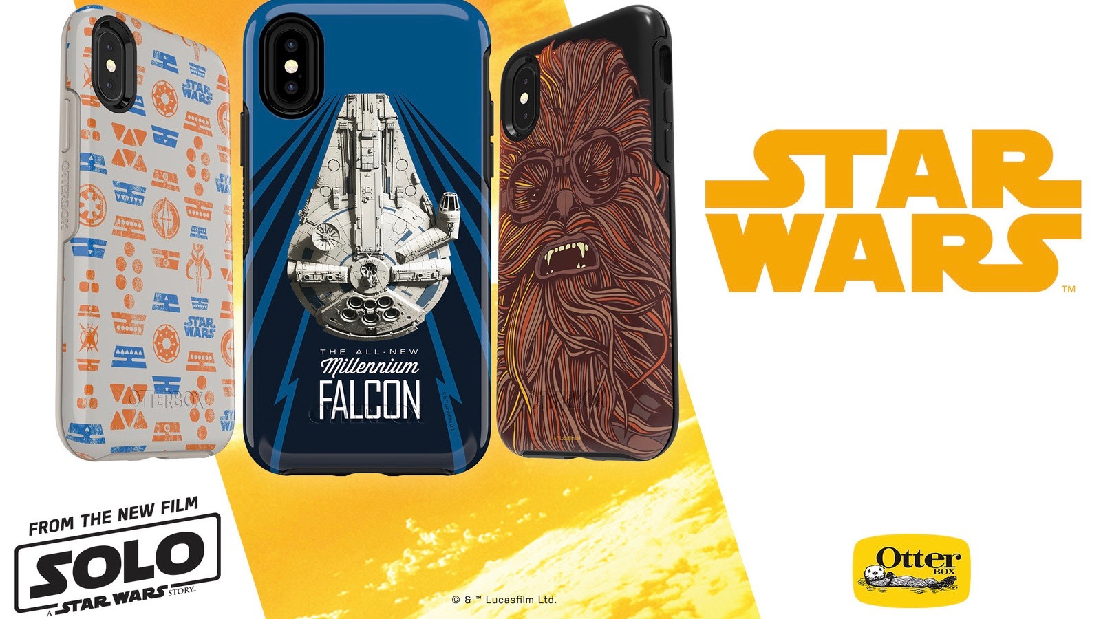 Otterbox releases new 'Solo: A Star Wars Story' cases for