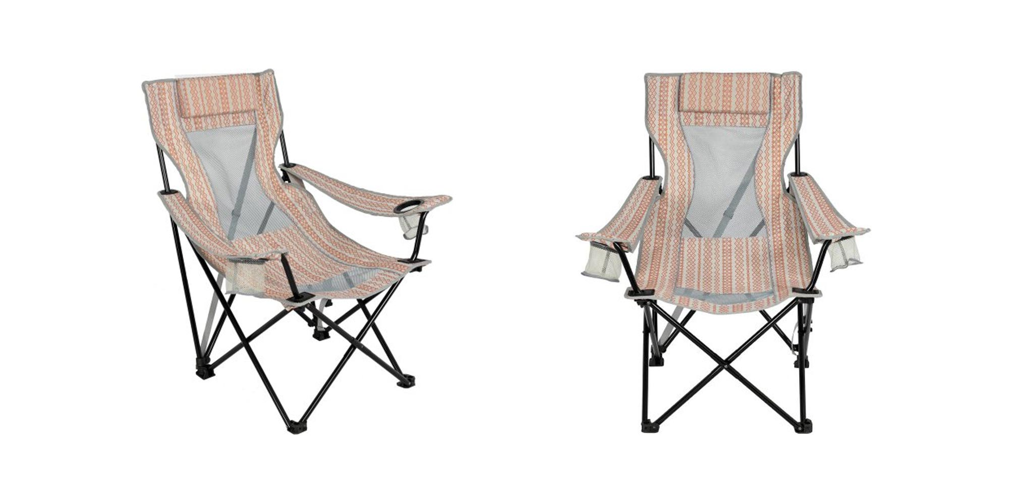 Awesome This Ozark Trail Oversized Mesh Lounge Chair Is Perfect For Theyellowbook Wood Chair Design Ideas Theyellowbookinfo