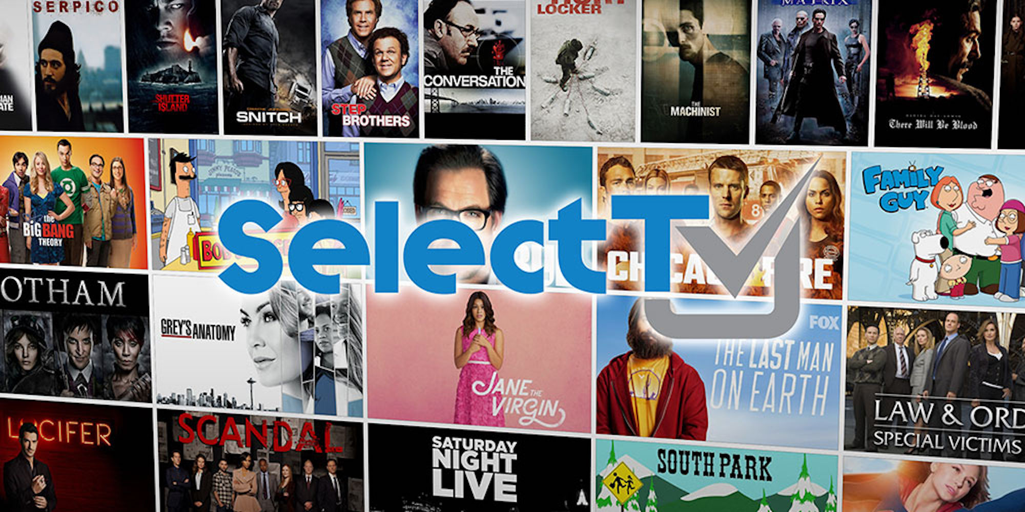 SelectTV Offers More Shows and Movies than Netflix at a Fraction of the Cost: 1-yr. $19