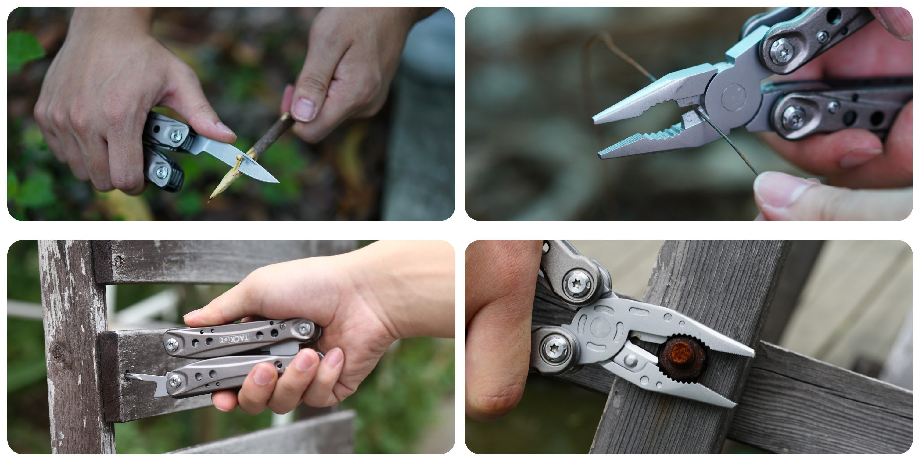 Tacklife Stainless Steel Multi-Tool with Pocket Knife for $5 Prime shipped (Reg. $15)