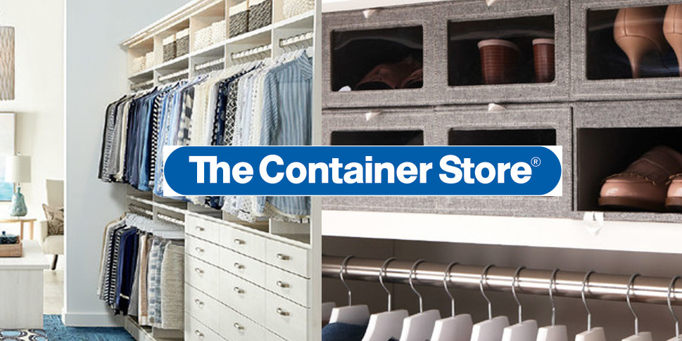 The Container Store Has Closet Essentials At 25% Off To Help Your Spring  Cleaning
