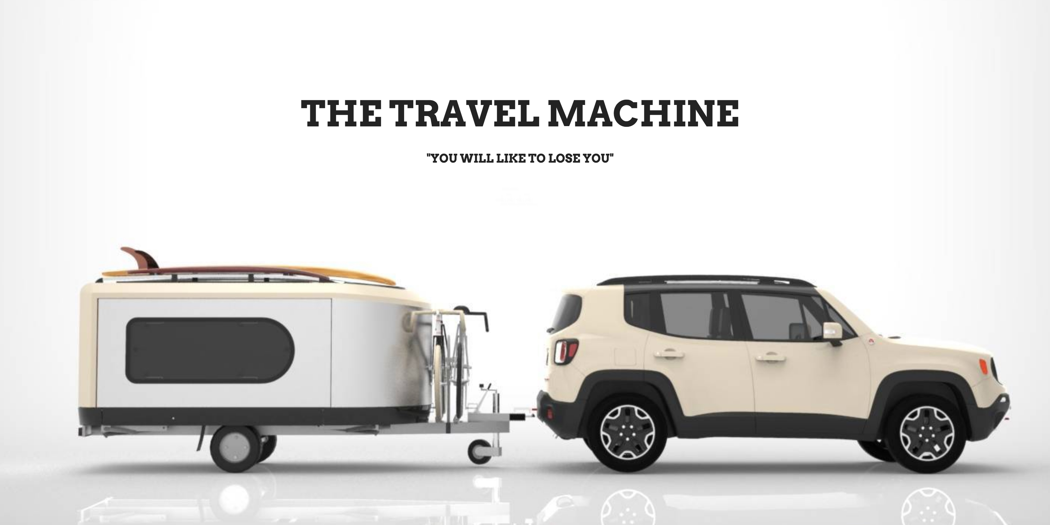 The Tipoon Travel Machine reimagines camping w/ room for four on-the-road