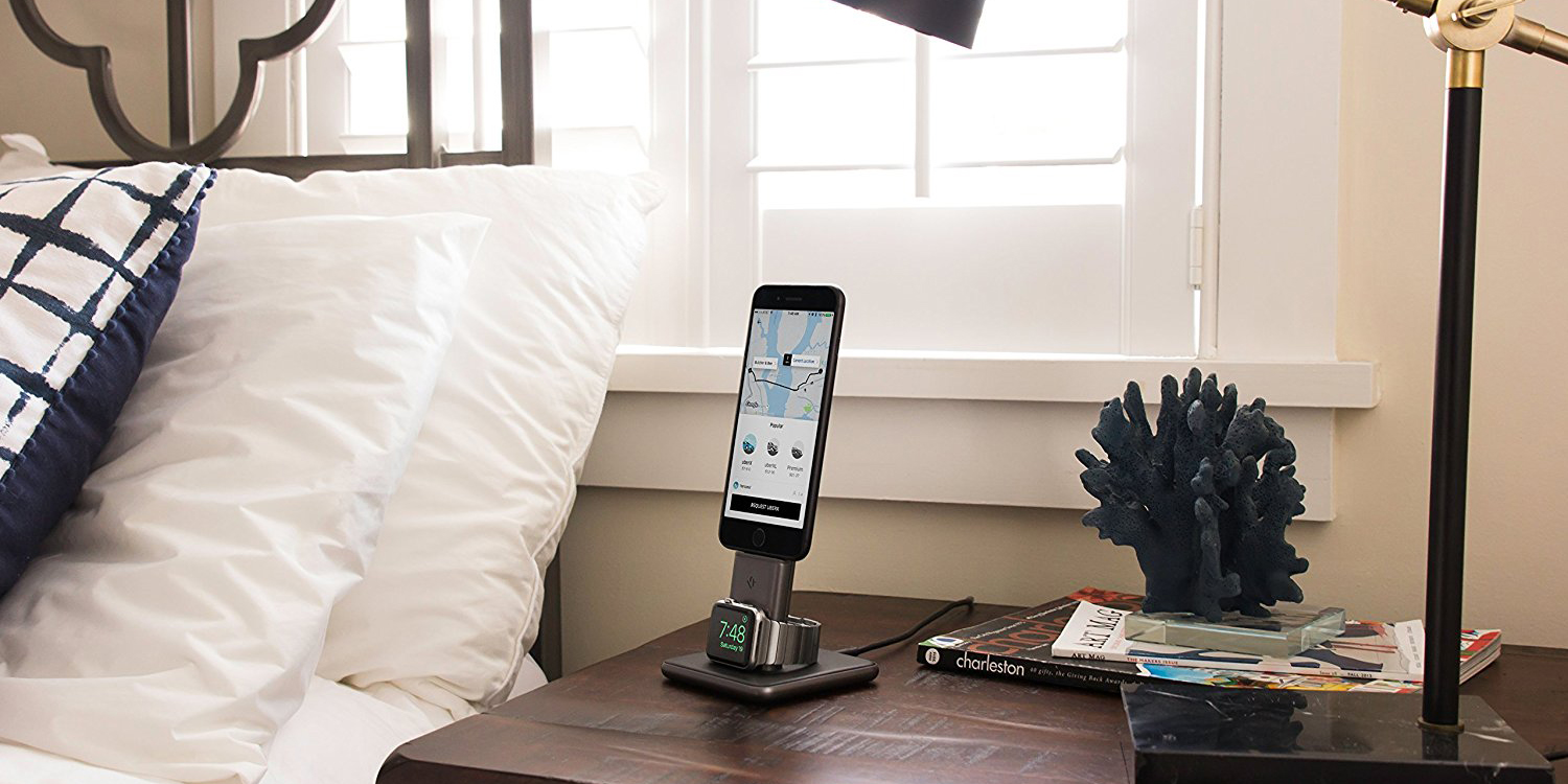 Twelve South HiRise Duet charges iPhone and Apple Watch: $65.50 (Reg. $100)