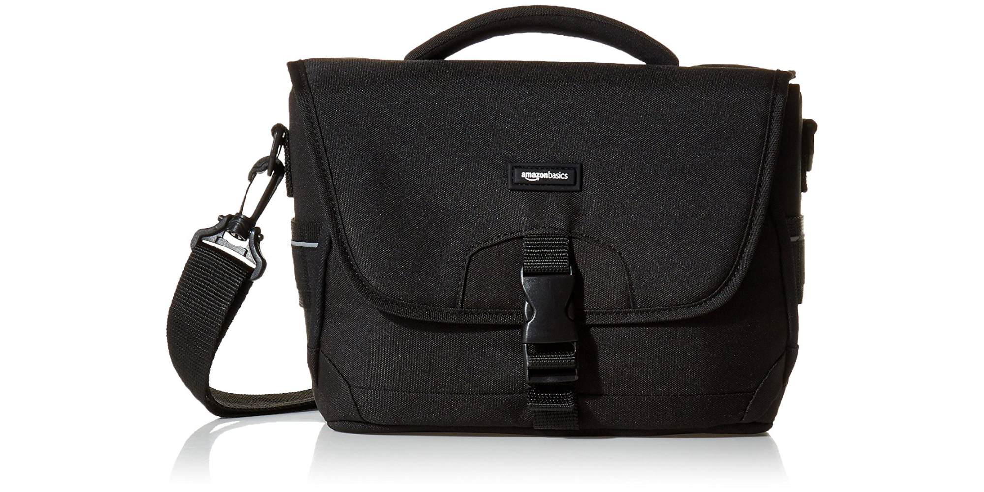 Carry a DSLR, 2 lenses, and small tablet w/ an AmazonBasics Bag for $12.50 (Reg. $18)