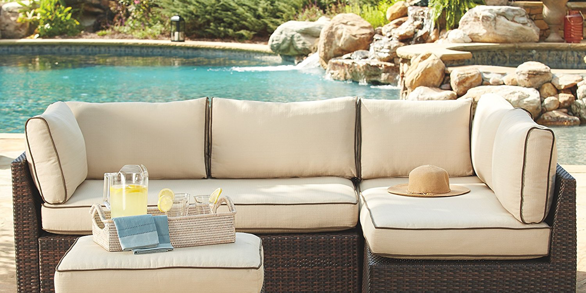 Amazon Discounts Select Ashley Furniture Outdoor Patio Gear From $73 Shipped