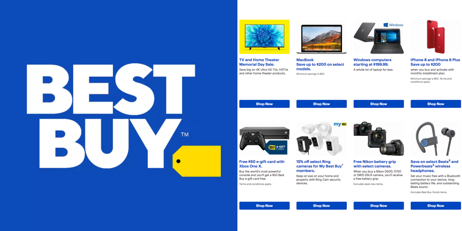 best buy early memorial day sale homepod deals 250 off macbook hdtvs 300 off more - Best Buy Day After Christmas Sale