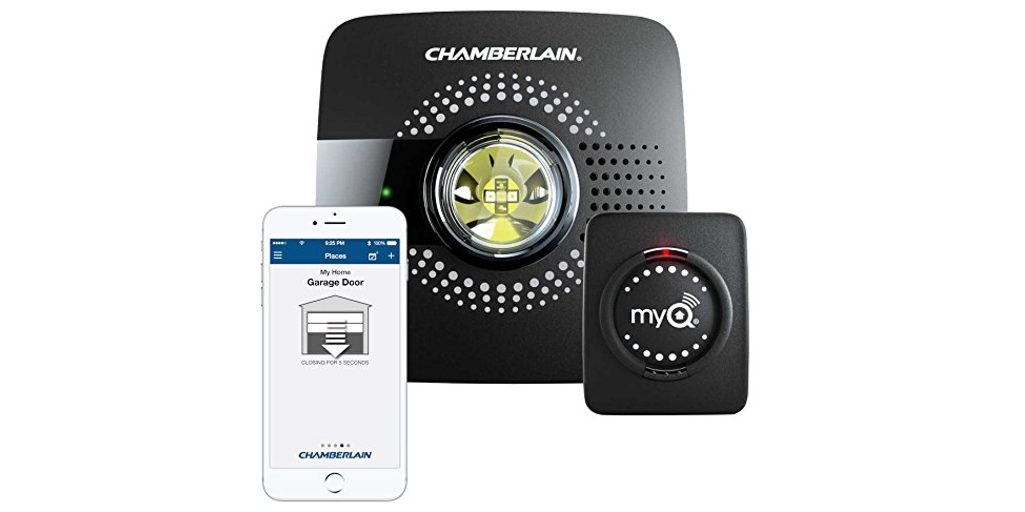 Chamberlain S Myq Hub Brings Smartphone Control To Your