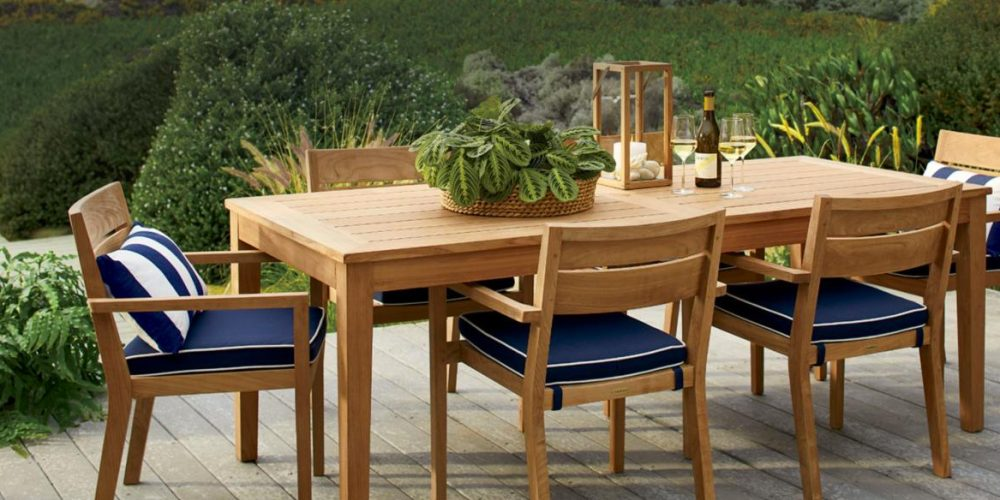 Crate Barrel Outdoor Event Offers Up To 30 Off Furniture