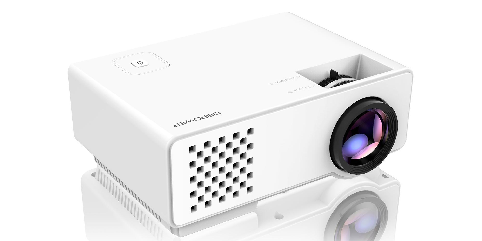 Watch 1080p movies on up to a 150-inch screen w/ this projector: $63 (Reg. $80)