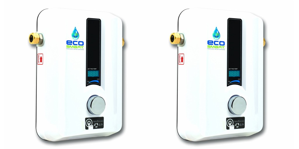 Amazon 1 Day Ecosmart Tankless Water Heater Sale Up To