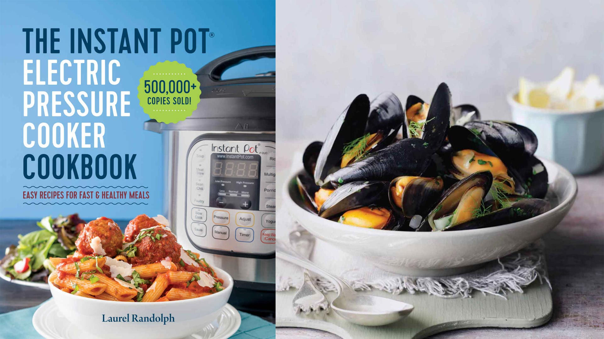 This Instant Pot cookbook has over 100 recipes and is just $1 for the Kindle Edition