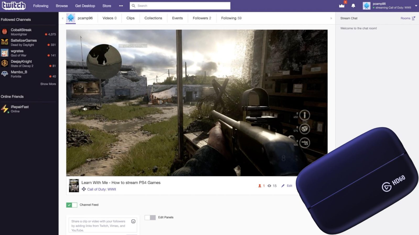 Learn with Me: How to stream PS4 games with Elgato software and