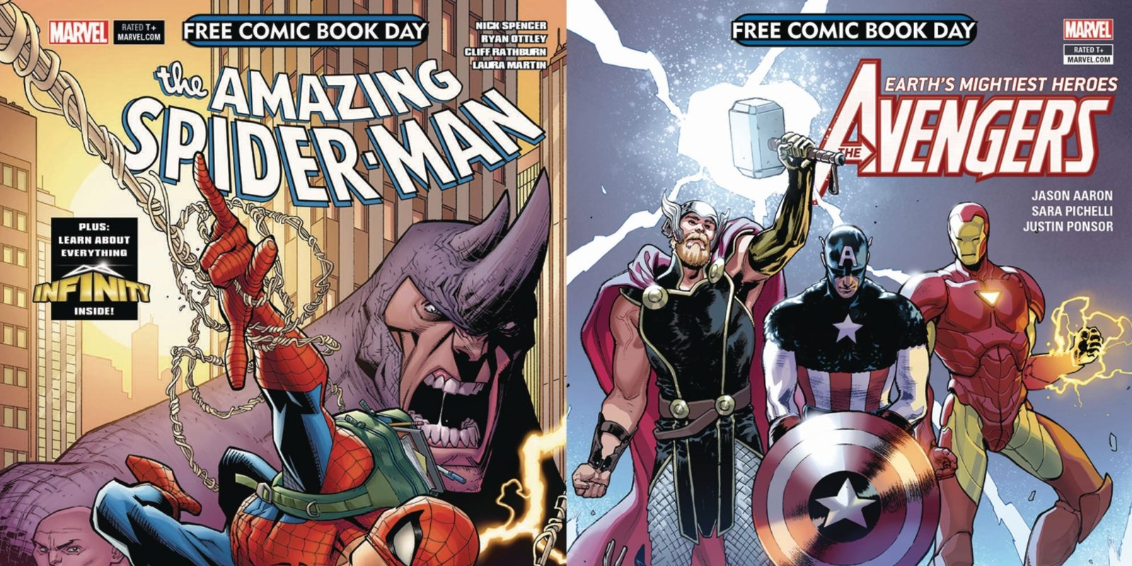 Add these FREE Marvel comic books to your Kindle eBook