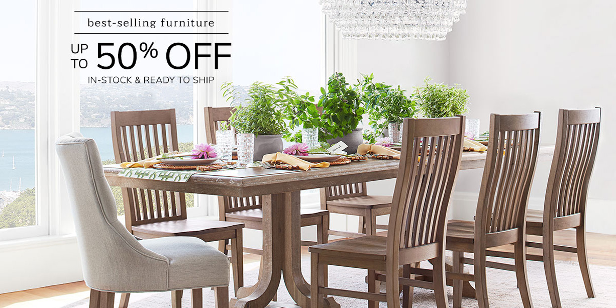 Pottery Barn S Best Selling Furniture Is Up To 50 Off