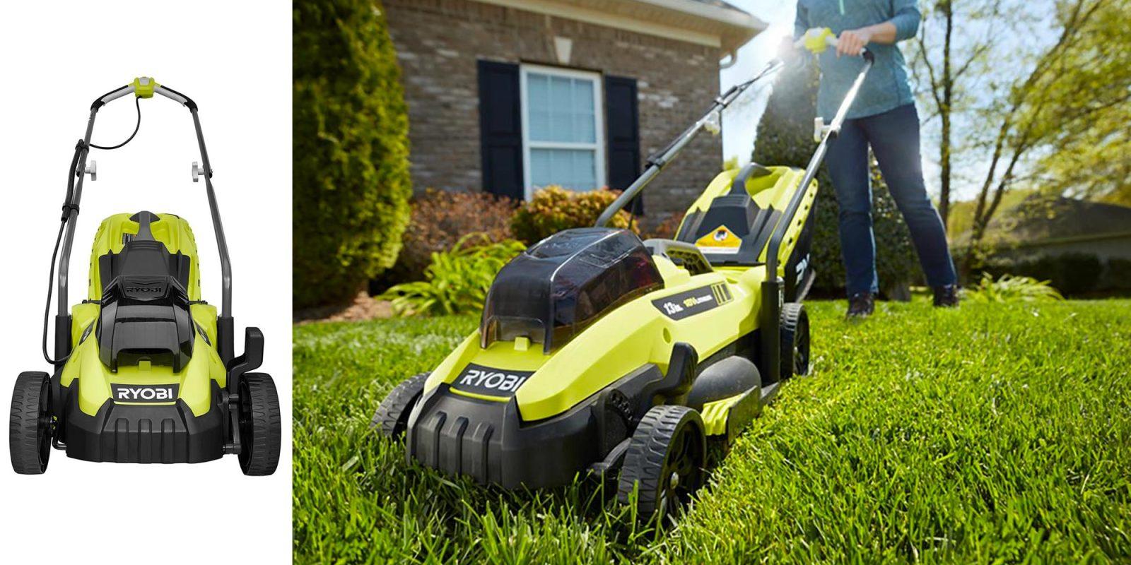 Green Deals: Ryobi 13-inch 18V Electric Lawn Mower $149 (Reg